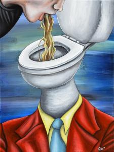 Head in the Toilet