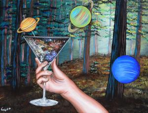 Outer Space and Dirty Martini