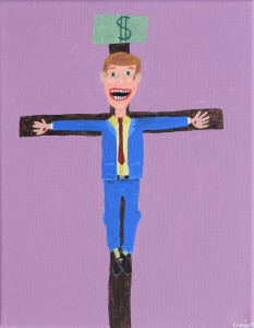 Businessman Jesus