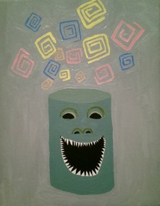 Can Full of Teeth (Sold)