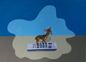 Doe Not Touch the Remote (Sold)