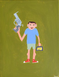 Kids with Guns (Sold)