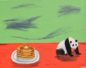 Panda-cakes